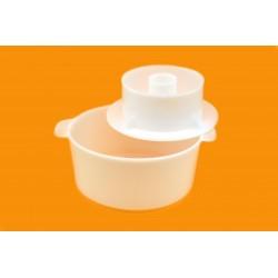 Универсальная форма для сыра с поршнем до 1кг