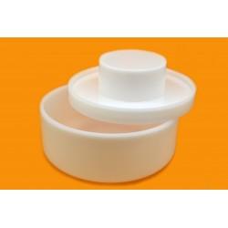 Универсальная форма для сыра с поршнем до 2,5кг