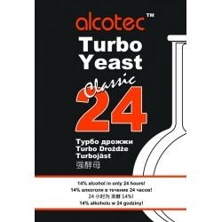 Спиртовые турбо - дрожжи Alcotec 24