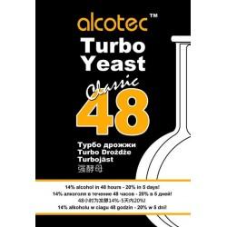 Спиртовые турбо - дрожжи Alcotec 48