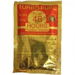 Спиртовые турбо дрожжи Prestige Turbo Pure 48 Hours
