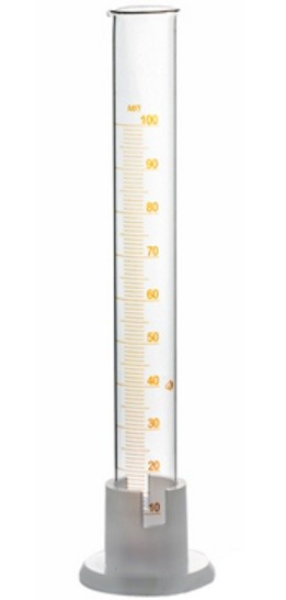 Измерительный цилиндр 100 мл.