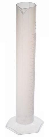 Измерительный цилиндр 250 мл. (Полипропилен)