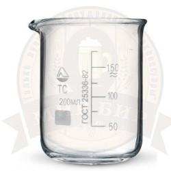 Стакан мерный стеклянный 200 мл.