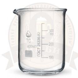 Стакан мерный стеклянный 400 мл.