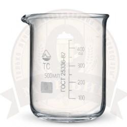 Стакан мерный стеклянный 500 мл.