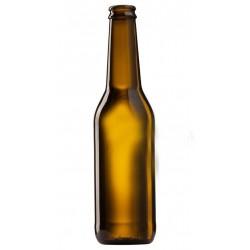 Пивная бутылка 0,33 л (коричневое стекло) под кроненпробку