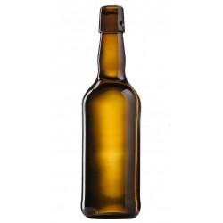 Пивная бутылка 0,5 л (коричневое стекло) под бугельную пробку