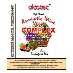 Сухие винные дрожжи Alcotec Aromatic Wine Yeast Complex
