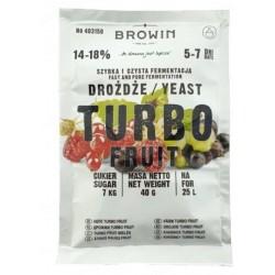 Дрожжи фруктовые Browin Turbo Fruit 14-18%