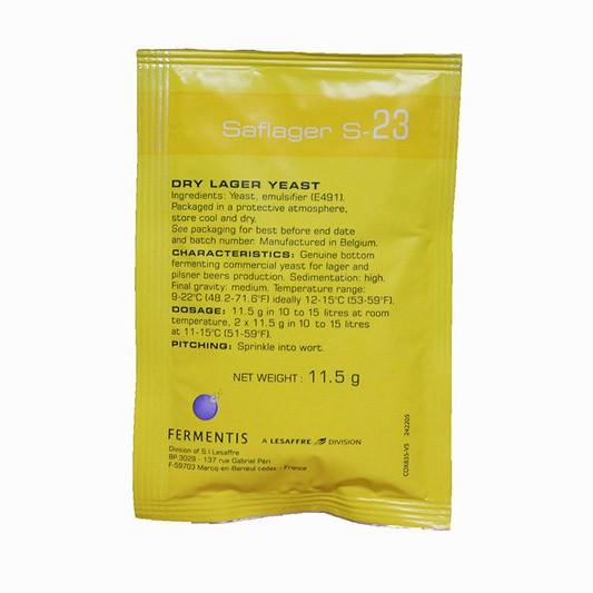 Пивные дрожжи Fermentis S-23